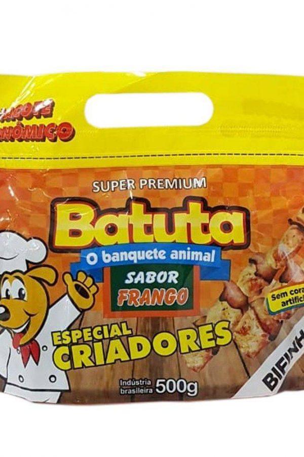 Pacote Econômico Bifinho Frango Premium Para Cachorros 500g