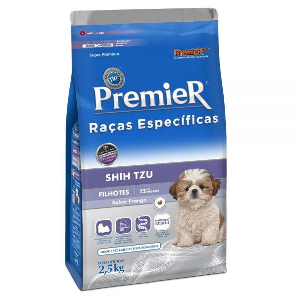 Ração Premier Raças Específicas Shih Tzu para Cães Filhotes 2,5 kg