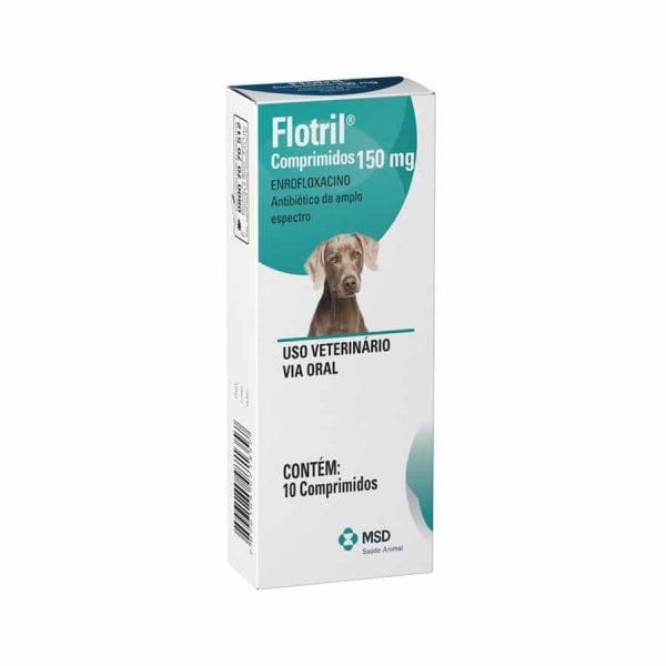 Flotril MSD 150mg 10 Comprimidos para Cães