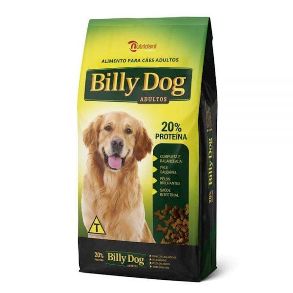 Ração Billy Dog Original Adultos.-15kgs