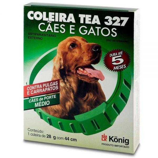 Coleira Antipulgas Para Cães Tea 327 Konig 28 Gr
