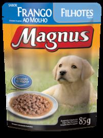 Magnus Sachê Premium Cães Filhotes Sabor Frango ao Molho