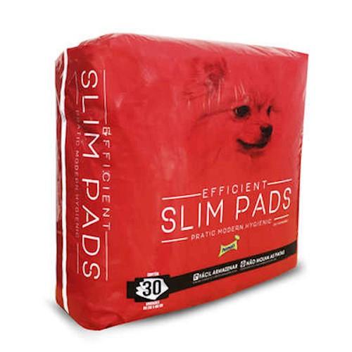 Tapete Higiênico Slim Pads para Cães com 30 Unidades 80cm x 60 cm