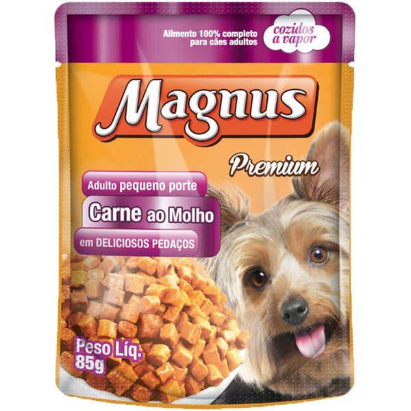 Sache Magnus Carne para Cães Adulto de Pequeno Porte