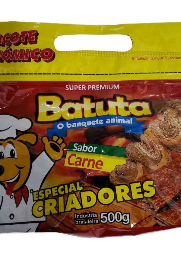 Batuta Sabor Carne Pacote Econômico 500g