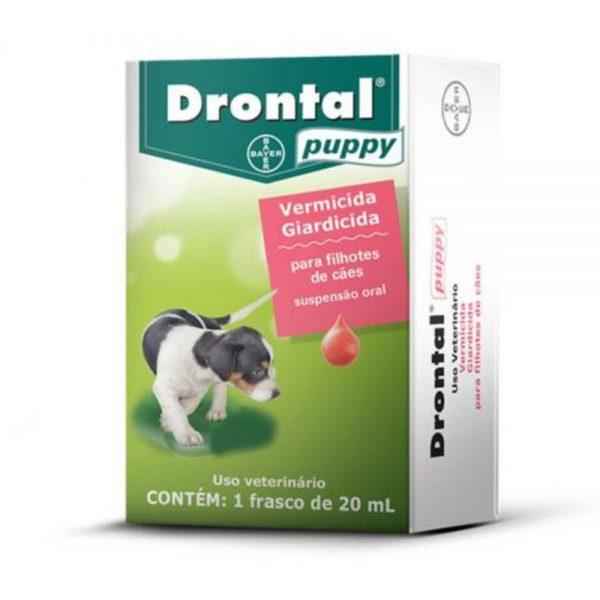 Vermífugo Bayer Drontal Puppy para cães filhotes – 20ml