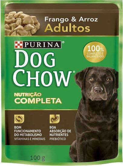 Ração Úmida Nestlé Purina Dog Chow Frango e Arroz para Cães Adultos