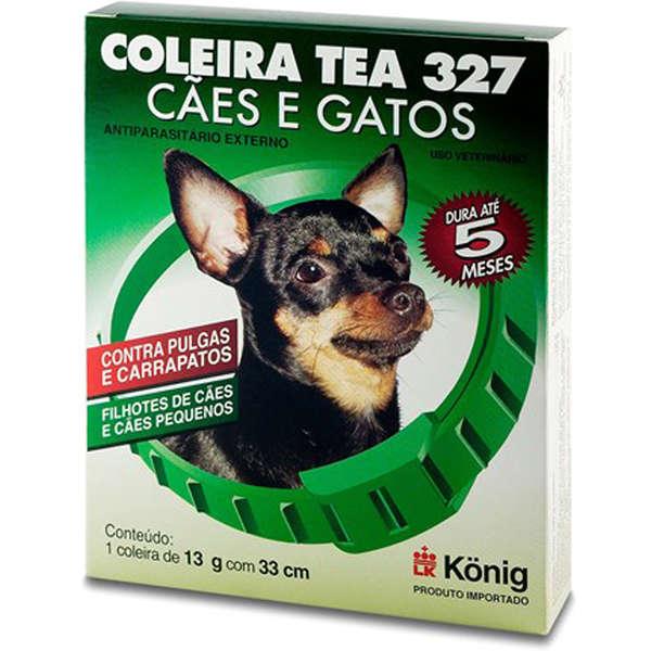 Coleira Antiparasitária Externo 33 cm para Cachorros
