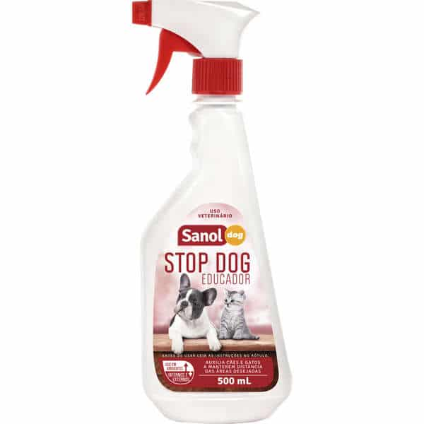 Educador Sanol Stop Dog para Cães – 500 mL