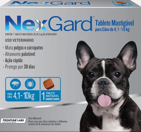 NEXGARD 4,1 A 10 KG (UNITÁRIO)