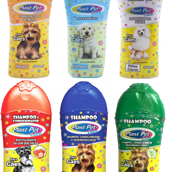 Shampoo Plast Pet 500Ml