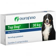 Top Dog Vermifugo cães 30kg (cada comprimido )
