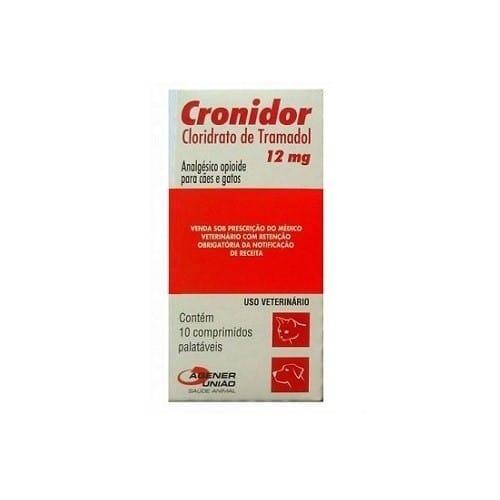 Cronidor 12mg 10 comprimidos