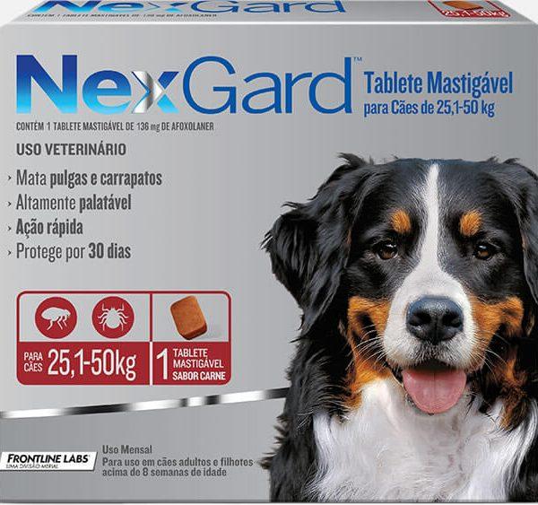 Nexgard 25 a 50 kg (1 comprimido)