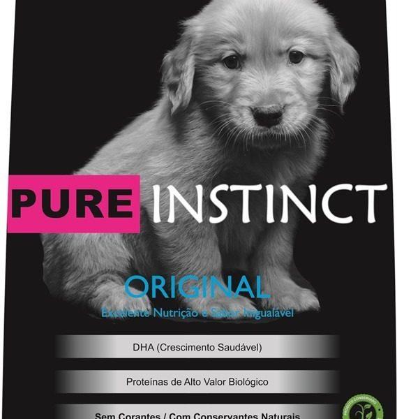 Ração Pure Instinct Super Premium Filhote 15 Kg
