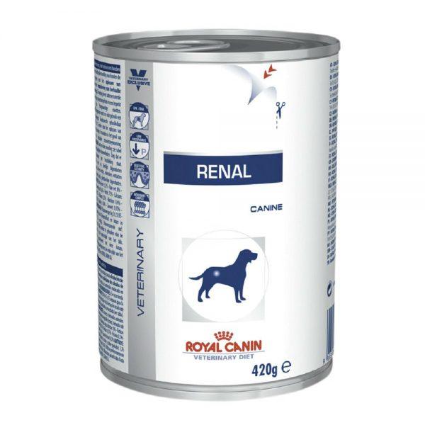 Ração Úmida Royal Canin Lata Veterinary Renal – Cães Adultos – 410g