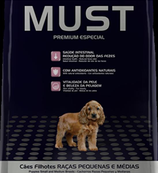 Ração Must Cães Filhotes Raças Pequenas e Médias 10 Kg