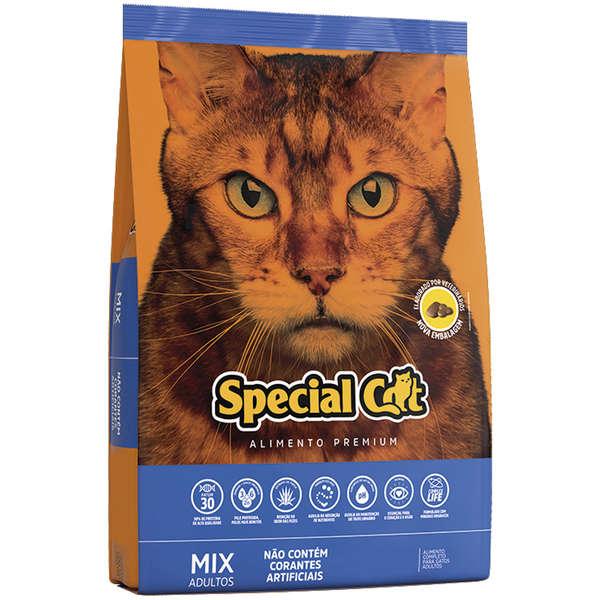 Ração Special Cat Mix Premium para Gatos Adultos 20 kg