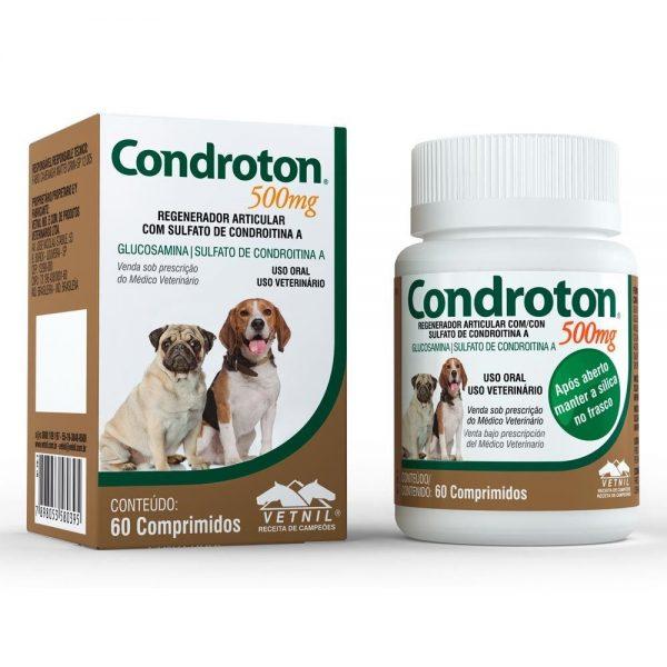 Condroton 500mg – frasco com 60 comprimidos