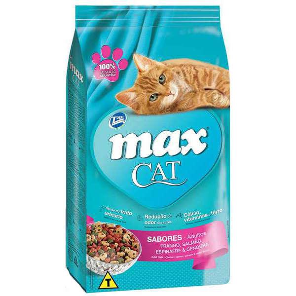 Ração Total Max Cat Sabores para Gatos 20 kg