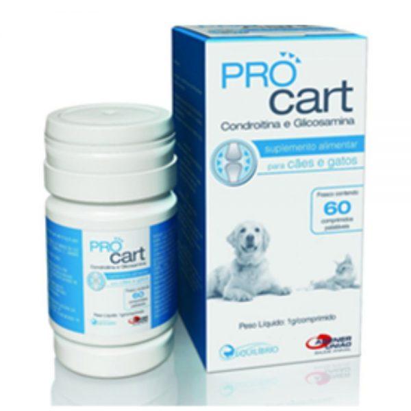 Pro Cart Suplemento Alimentar Articular 60 Comprimidos Condroitina e Glicosamina – Agener