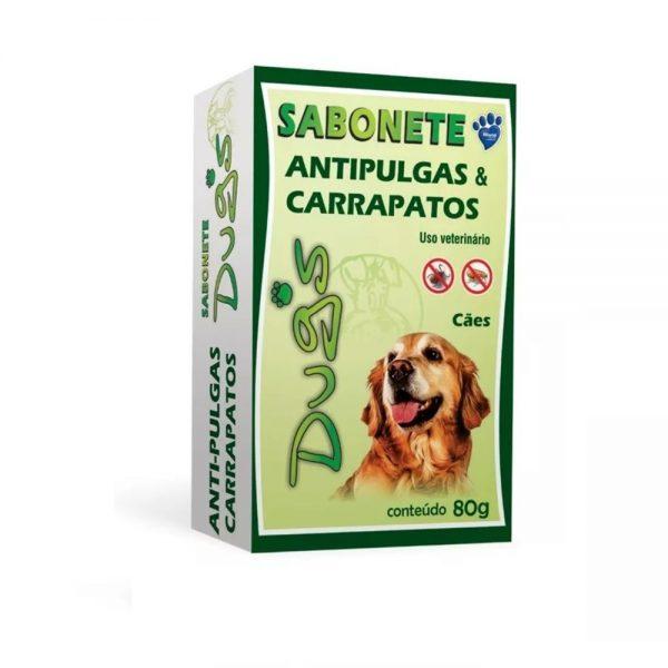 Sabonete Dug's Anti Pulgas E Carrapatos 80g