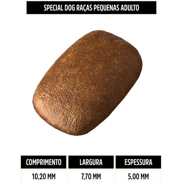 Ração Special Dog Premium para Cães Adultos de Raças Pequenas 20 kg