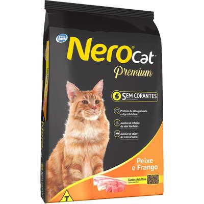 Ração Total Nero Cat Peixe e Frango para Gatos Adultos 20kg