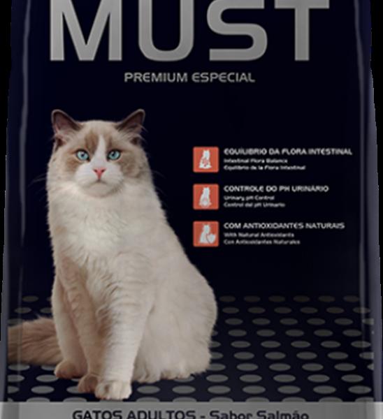Ração Must Gatos Adultos Salmão 10,1 Kg