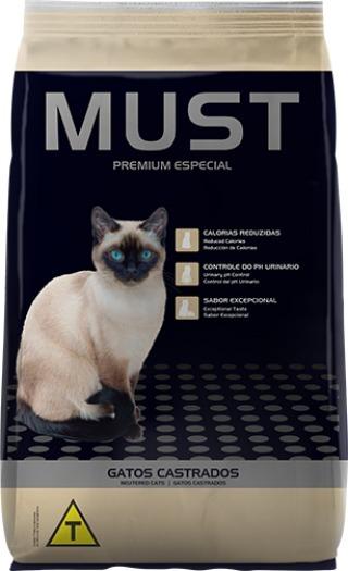 Ração Must Gatos Castrados Premium Especial 10,1kg