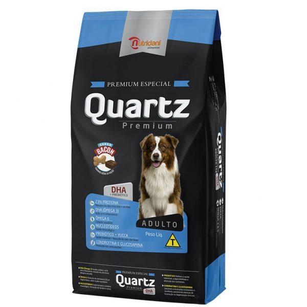 Ração Quartz Premium Sabor Bacon 15kg