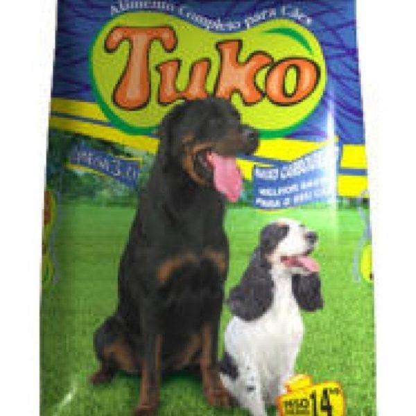 Ração Tuko Para Cães Adulto 14 Kg Rico Em Ômega 3 E 6