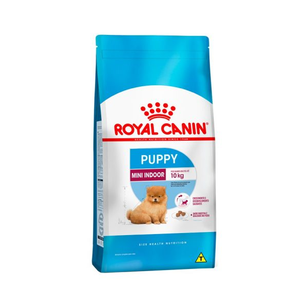 Racao Royal Canin Mini Indoor Caes Filhote 1kg
