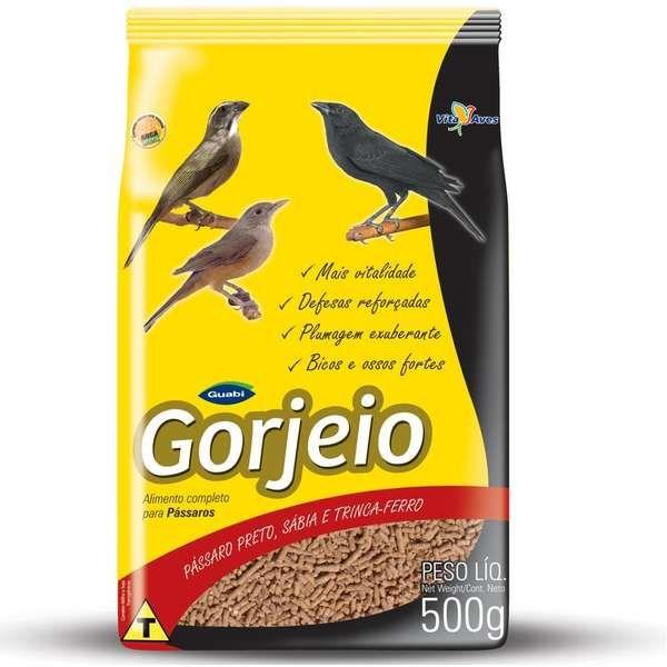Ração Gorjeio para Pássaros – 500 g