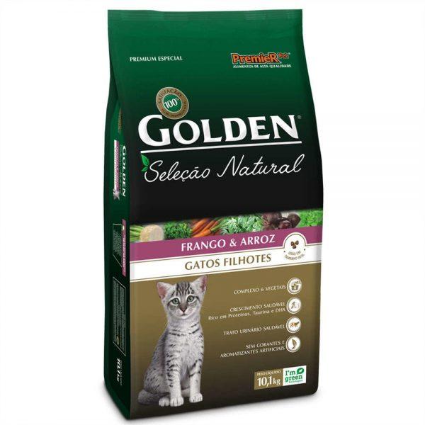 Golden Gato Filhote Selecao Natural 3kg