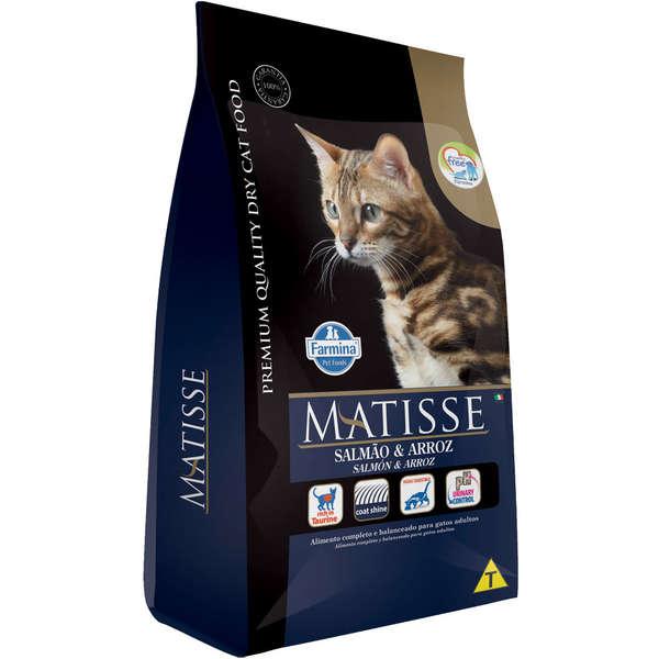 Ração Farmina Matisse Salmão e Arroz para Gatos Adultos 2kg