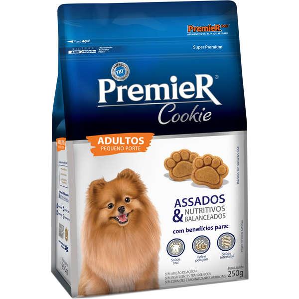 Biscoito Premier Pet Cookie para Cães Adultos Raças Pequenas 250gr