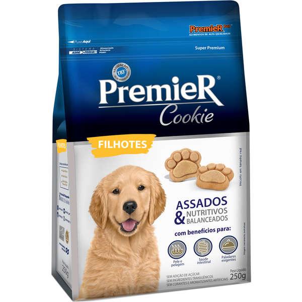 Biscoito Premier Pet Cookie para Cães Filhotes 250gr