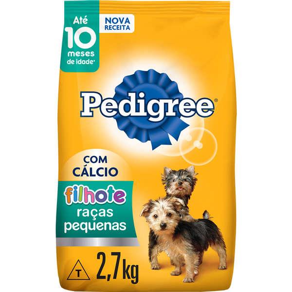 Ração Seca Pedigree para Cães Filhotes Raças Pequenas 900gr