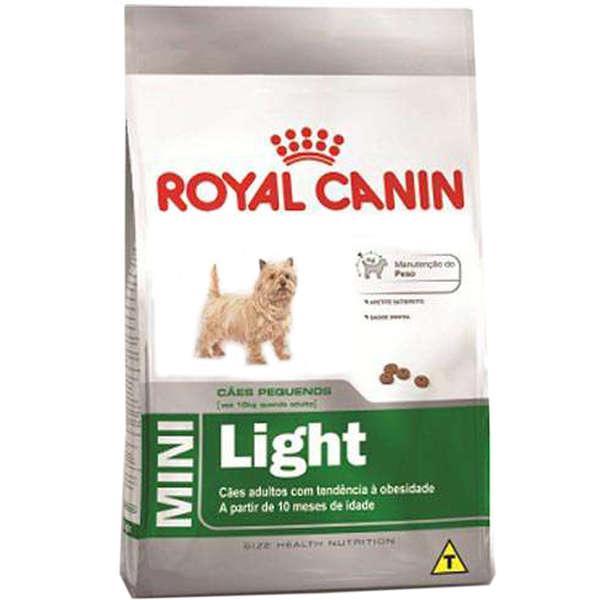Ração Royal Canin Mini Light para Cães Adultos de Raças Pequenas com Tendência a Obesidade 1kg