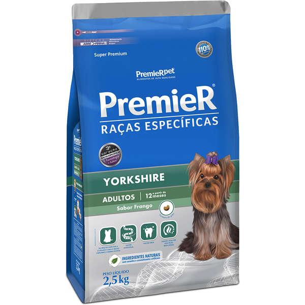 Ração Premier Pet Raças Específicas Yorkshire Adulto 2,5kg