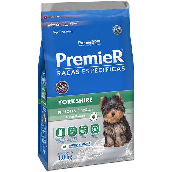 Ração Premier Pet Raças Específicas Yorkshire Filhotes 2,5kg