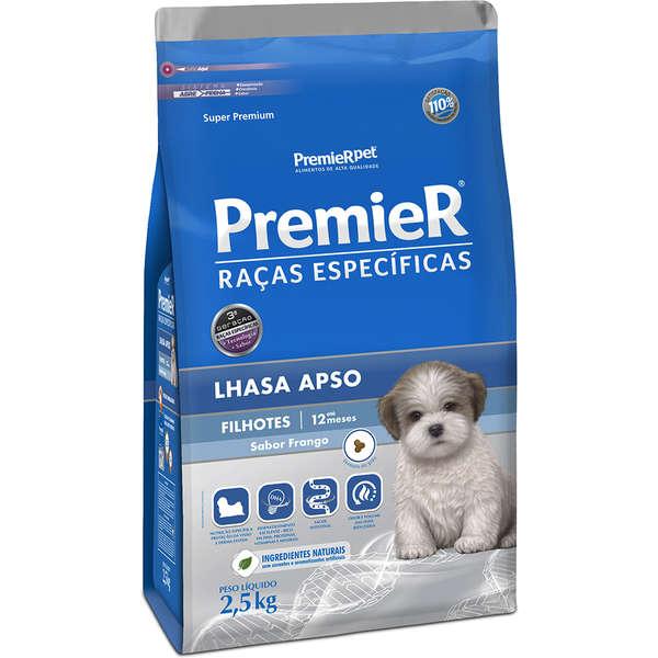Ração Premier Pet para Cães Filhotes de Raças Específicas Lhasa Apso 2,5kg